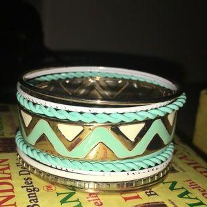 Nice turquoise boho bracelets bangles